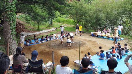 神田町会子供相撲大会