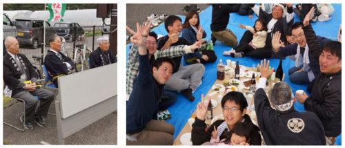 里曳き祭参加者