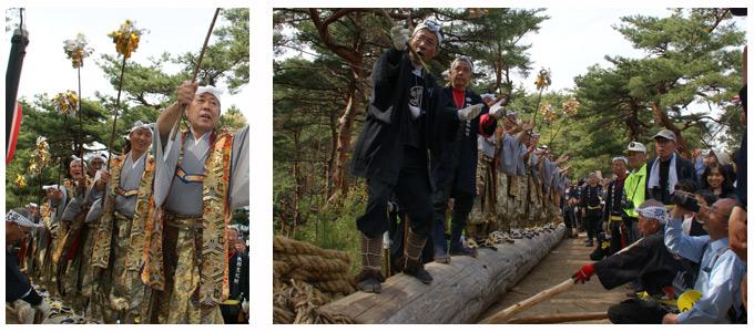 建立祭 木遣り唄