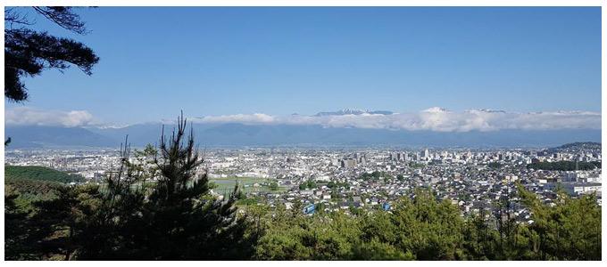 千鹿頭山からの眺望