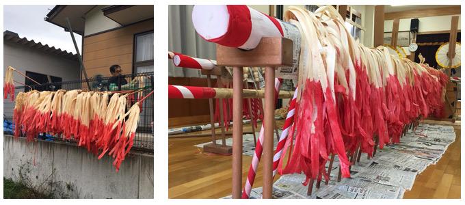 木遣長持ち保存会、祭りの準備その5