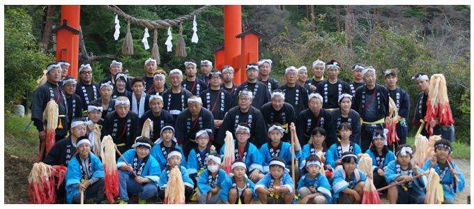 千鹿頭神社例大祭長持ち保存会
