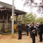 千鹿頭神社に参拝